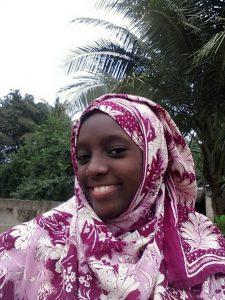 Amina im Januar 2018