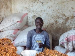 Waziri's Baobabfrüchtekleinhandel
