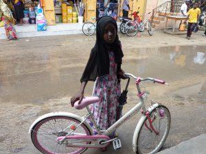Amina in jüngeren Jahren