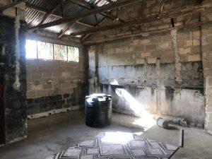 Arbeitsplatz für die Wäscherei